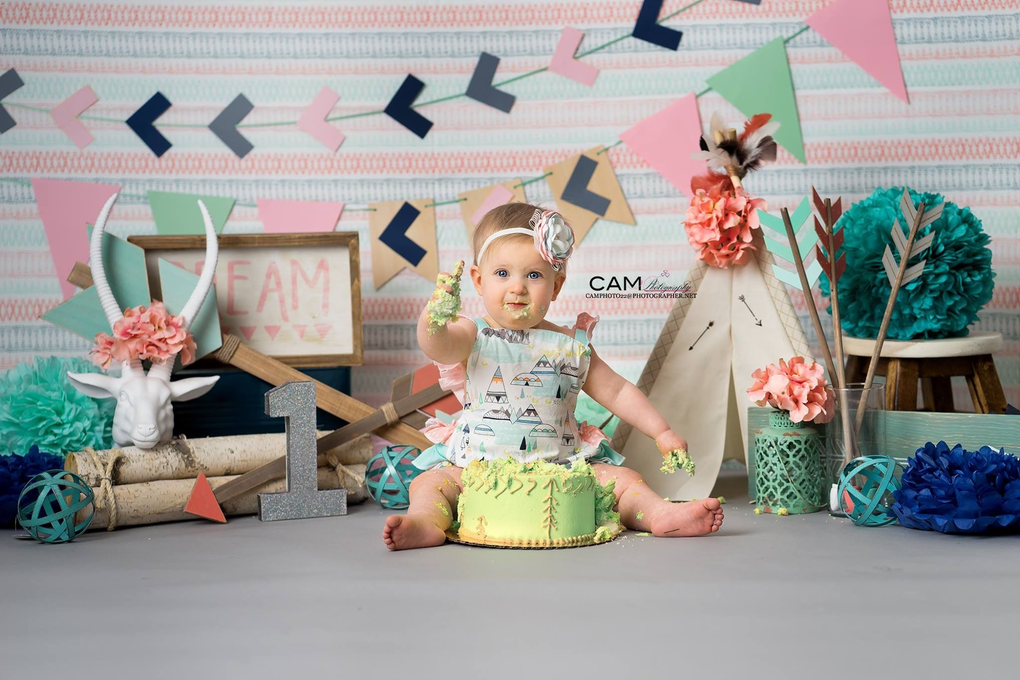 Wild One First Birthday Photo Shoot