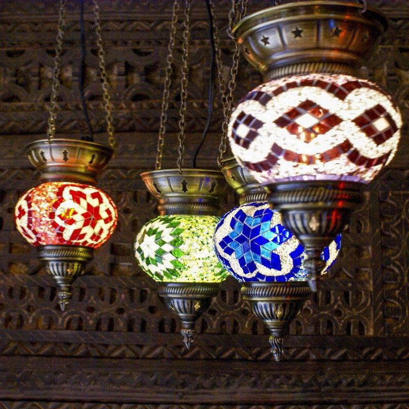 Luminaire Decoration Orientale En Mosaique Exo Atelier Lampes En Verre Orenes De Mosaique Disponibles En Plusieurs Decoration Orientale Luminaire Decoration