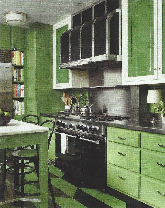 Kate Rheinstein Brodsky's apartment in Elle Decor ...