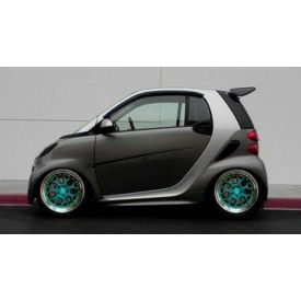Smart Car Roof Spoiler By Madness Carbon Fiber Because My