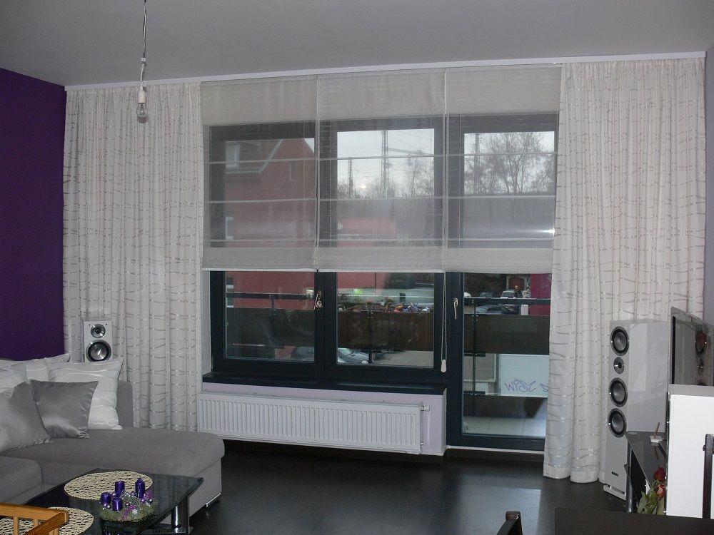 Erstaunlich Gardinen Wohnzimmer Trend Fur Im Deko Ideen Gardinen