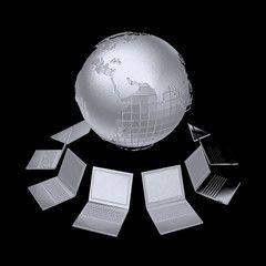 3d анимация сеть интернет