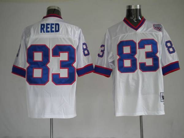 uk availability 5a742 9ddae Mitchell and Ness Buffalo Bills 83 Andre Reed White Stitched ...