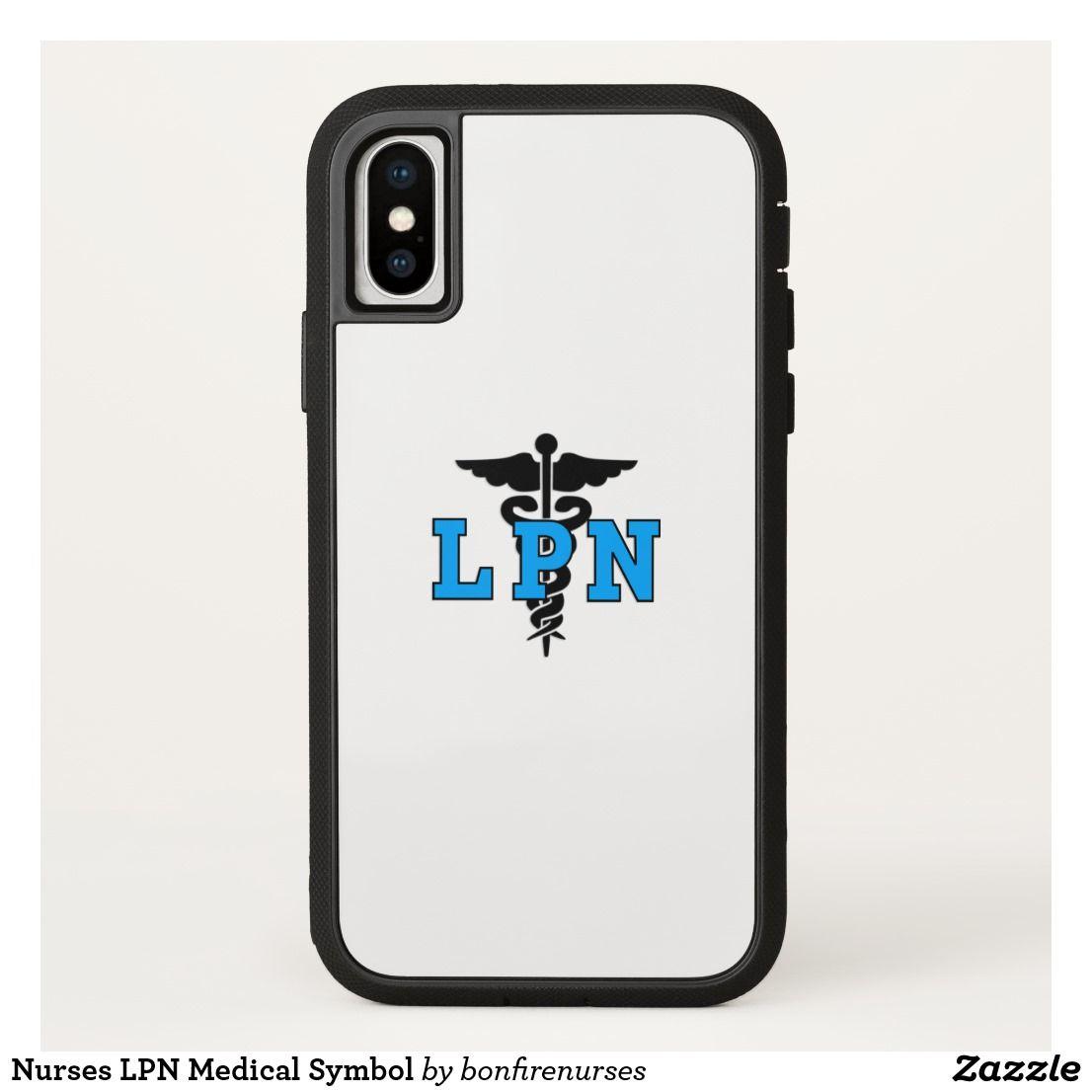 Nurses Lpn Medical Symbol Iphone X Case