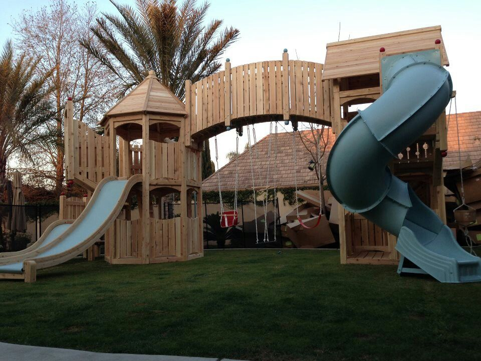 Serendipity Play Structure From Cedarworks · Kids Outdoor ...
