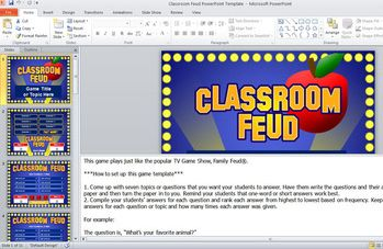 family feud powerpoint game template christmas game ideas