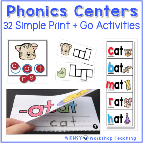 Teaching Reading With Phonics Centers Phonics Centers Phonics