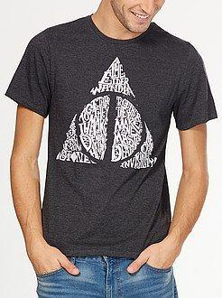 Camisetas - Camiseta 'Harry Potter' de punto de jersey - Kiabi ... b06ee71a7e73