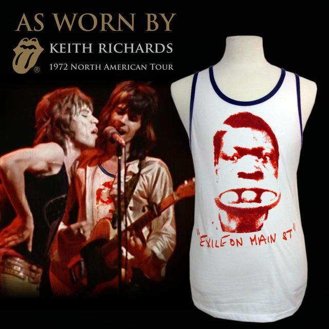 /'Keith For President/' Vintage Style T-Shirt *Official Merch* Rolling Stones