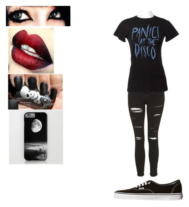 """""""Untitled #147"""" by jadziahblackman on Polyvore featuring Topshop and Vans"""