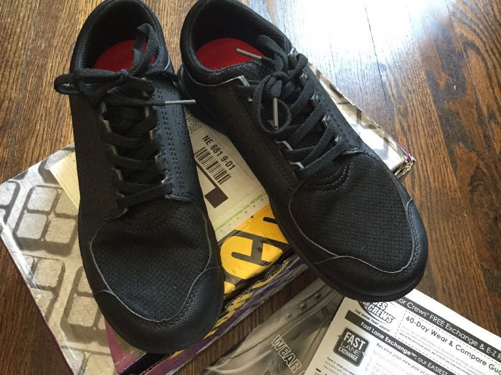Shoes For Crews - Swift Black - Women's - 9 #ShoesForCrews #WorkSafety