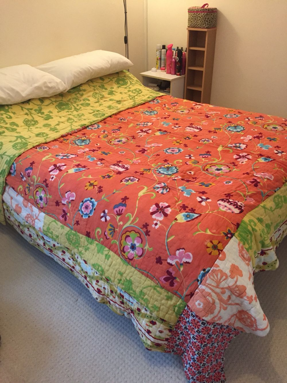 I Finally Got My Mitts On Her Bedding Set Kumala Rose By  # Muebles Big Bang Theory