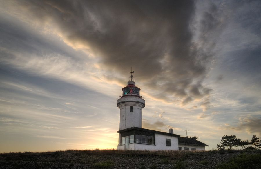 Helgenæs Lighthouse by Peter Weje on 500px