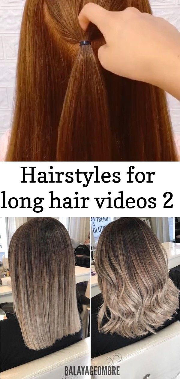Hairstyles for long hair videos 2 hairstyles for long hair videos| Hairstyles Tutorials Compilation 2019 | Part 414 - What Is Balayage? Here Are the Facts About the Hair Color Perfect for Summer Cute Short Hairstyles
