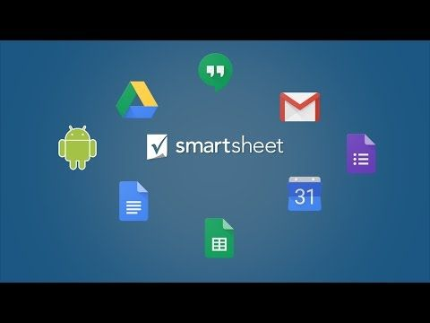 Smartsheet and Google Apps for Work YouTube Google