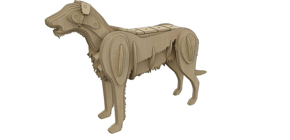 Irish Wolfhound Hot Off The Press Ii Brand New Makecnc Projects