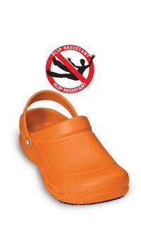 4608f8a2e Orange Crocs Mario Batali - Signature Bistro Unisex Closed Toe Clogs  If  Bret Favre can do it...  ))