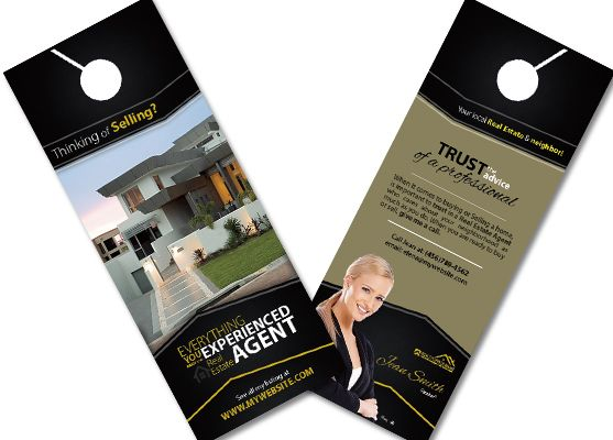 Real Estate Door Hangers Rsd Dh 104