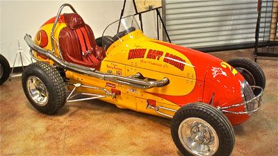 King midget race car took the
