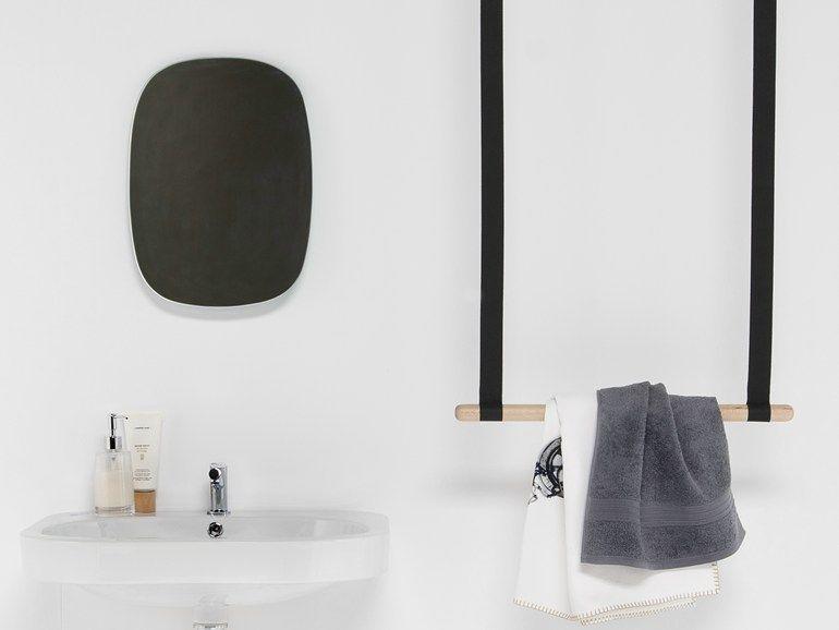 Barre porte-serviettes à suspendre en hêtre Collection Gambol by
