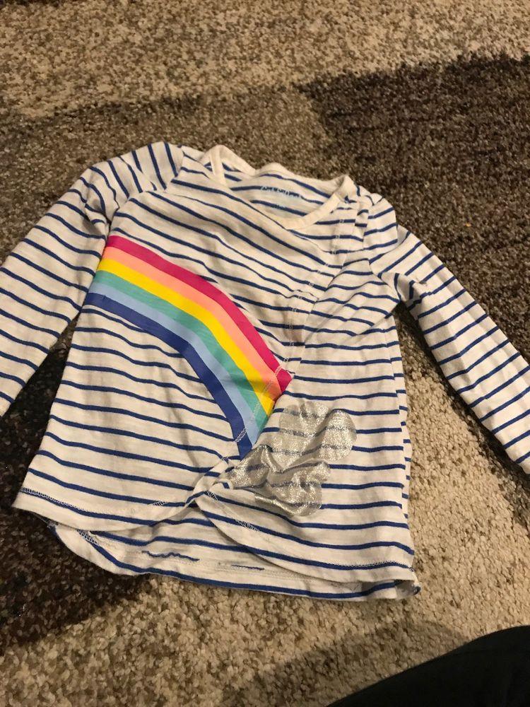 9f57fae8752 Cat   Jack Target Rainbow Long Sleeve Girls Shirt 18 Months Toddler - Cat  Tshirt