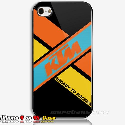 KTM Logo iPhone 4 or 4S Case | Merchanstore - Accessories on ArtFire