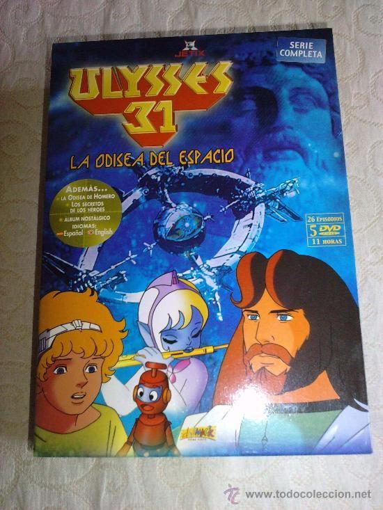 ULYSSES - Ulises 31 - Ulyses - 5 DVD - Completa - 26 Episodios - ORIGINAL - Esp / Ing . - (Cine en DVD - Series TV)