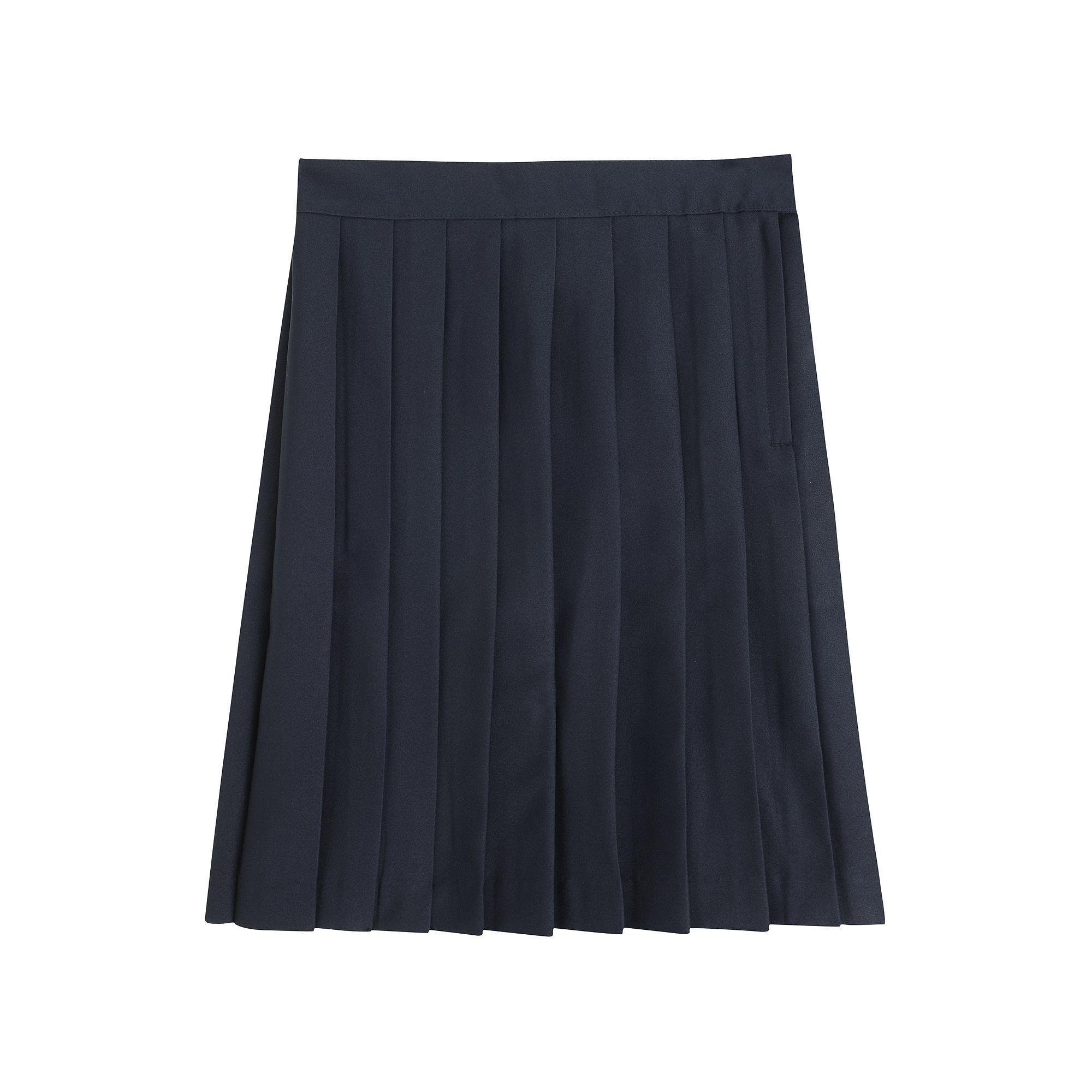 a804e0e2c Girls 4-20 & Plus Size French Toast School Uniform Pleated Skirt, Size: 10  Plus, Blue (Navy)