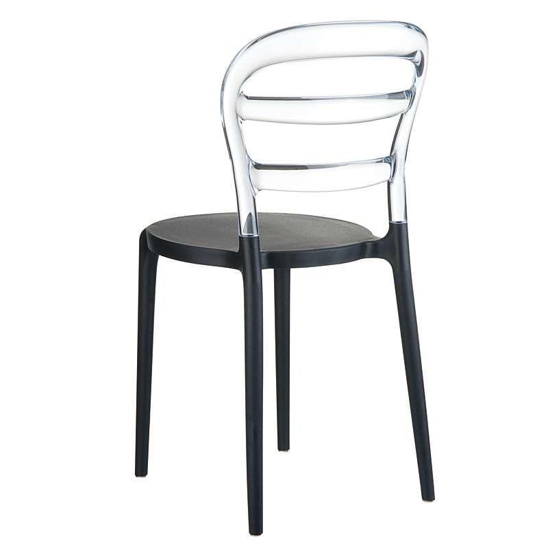 Chaise Moderne En Polycarbonate Transparent Et Polypropylene Miss Bibi Chaise Moderne Chaise Plastique Chaise Design