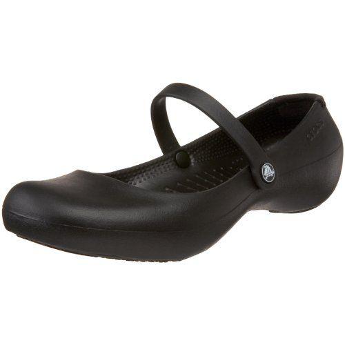 Crocs Women's Alice Mary Jane Flat,Black,9 M US crocs,http: