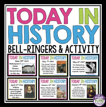 Photo of HISTORY BELL RINGERS: TODAY IN HISTORY
