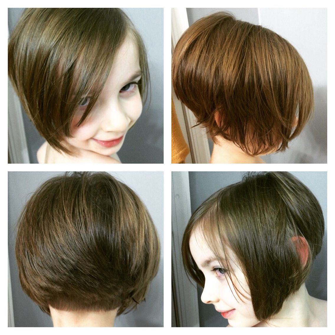 Little Girl Asymmetrical Bob Hair In 2018 Pinterest Hair Cuts