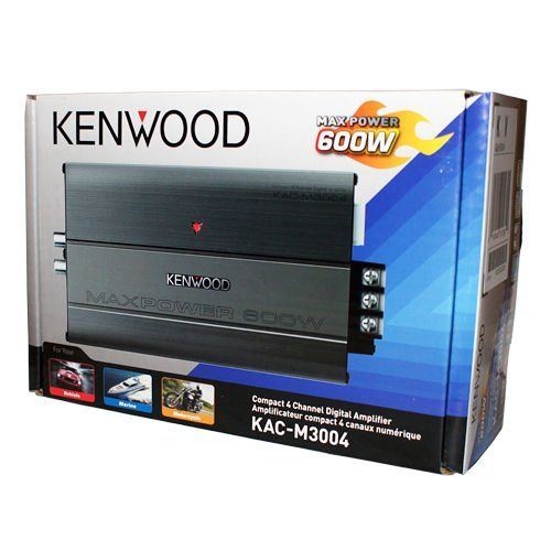Kenwood Kacm3004 Compact 4 Channel Digital Amplifier Check Out This Great Product Note Amazon Affiliate Link With Images 4 Channel Electronics Gadgets Kenwood