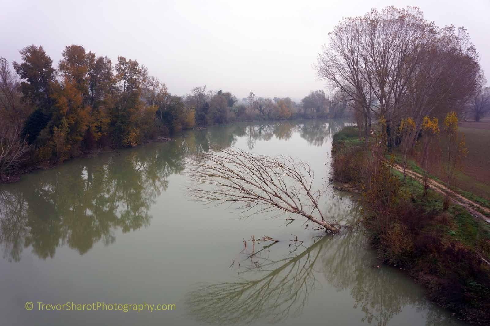 River Tiber near Montemolino