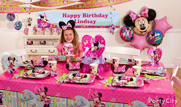 Minnie Mouse Party Ideas Minnie Mouse Birthday Party Ideas Party
