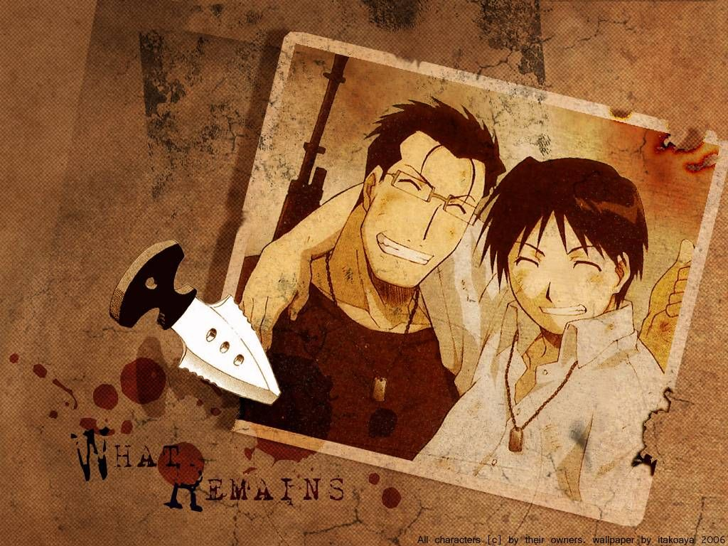 Image result for roy mustang and maes hughes