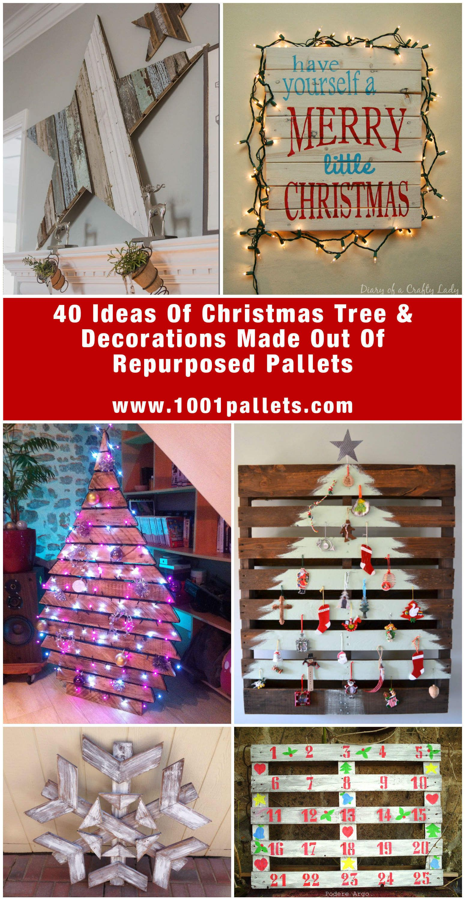 Wood Pallet Christmas Tree Ideas.65 Pallet Christmas Trees Holiday Pallet Decorations Ideas