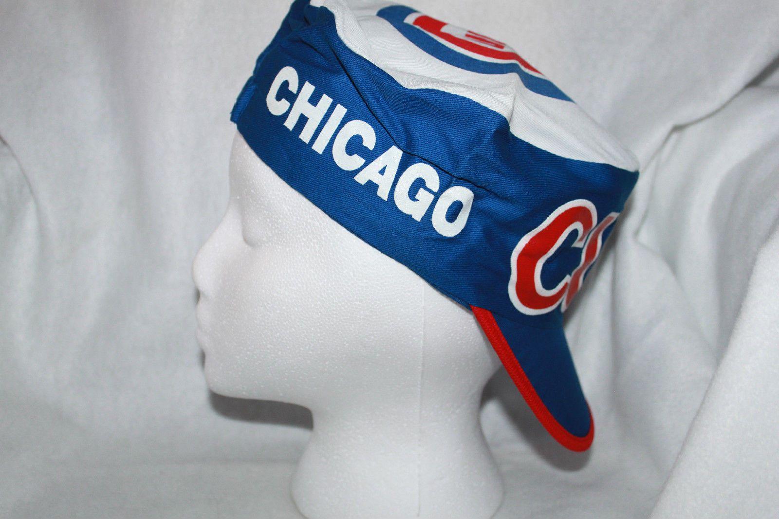 Chicago Cubs MLB Painters Cap Hat Vintage Rare Old School please retweet 24a0b883e78