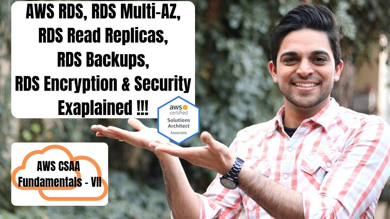 Aws certified solutions architect part 11 aws rds