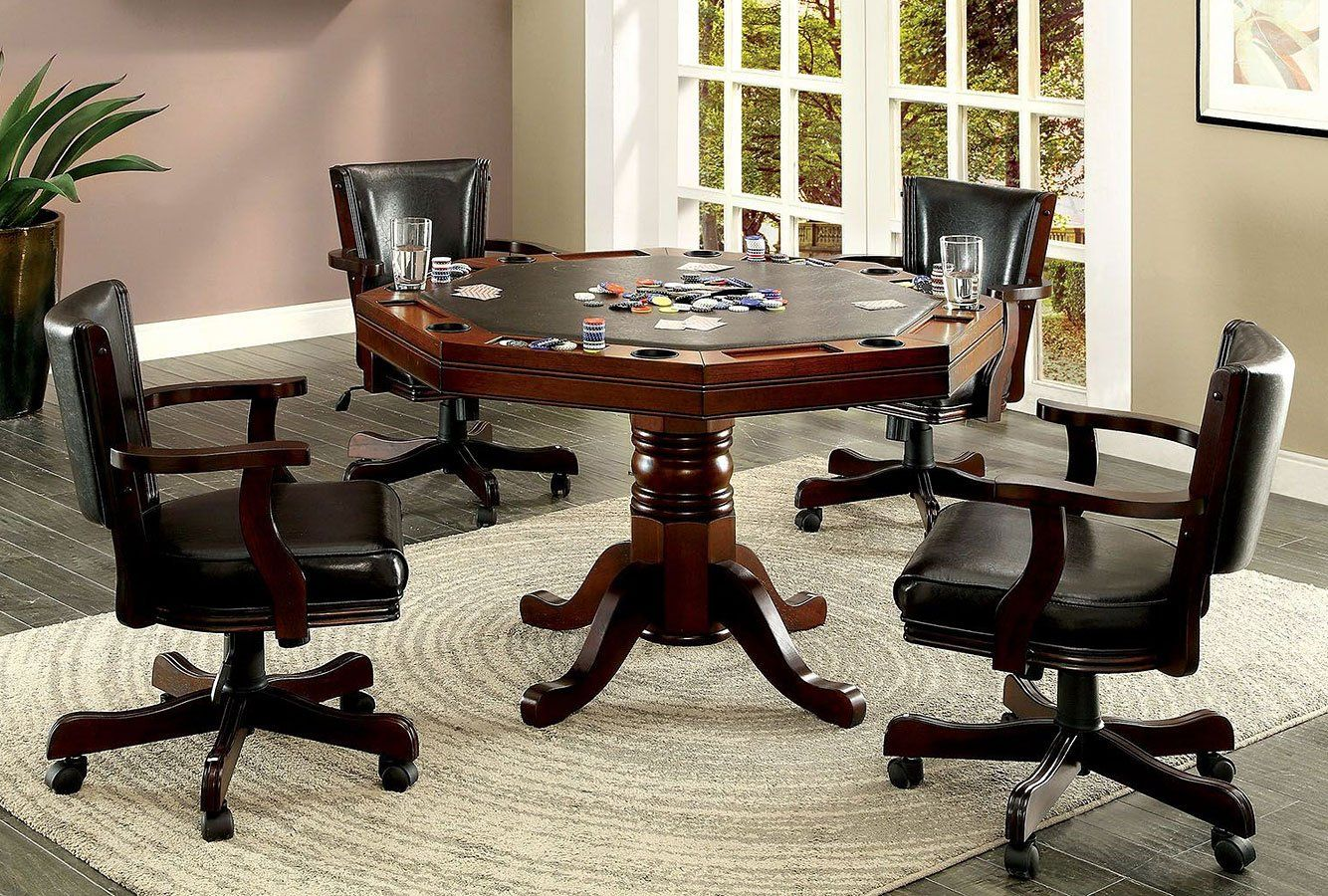 Rowan Game Table Set Game Table And Chairs Furniture Home