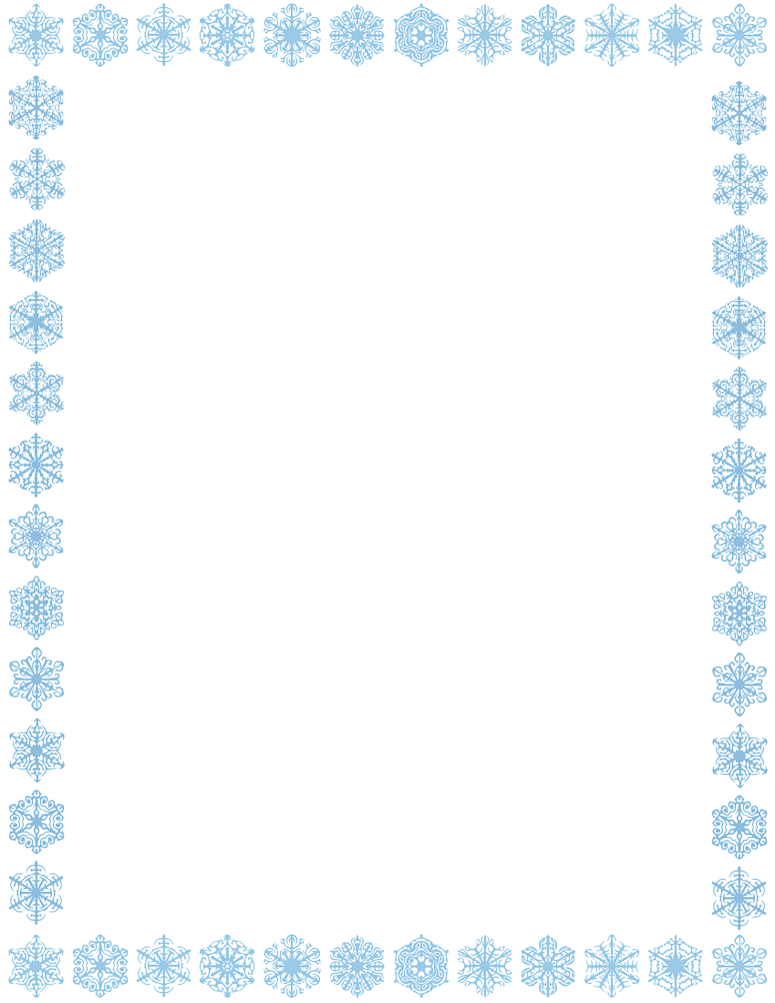 free snowflake border clipart cliparts co t l winter pinterest rh pinterest co uk Winter Border Clip Art Free Winter Clip Art Borders and Frames