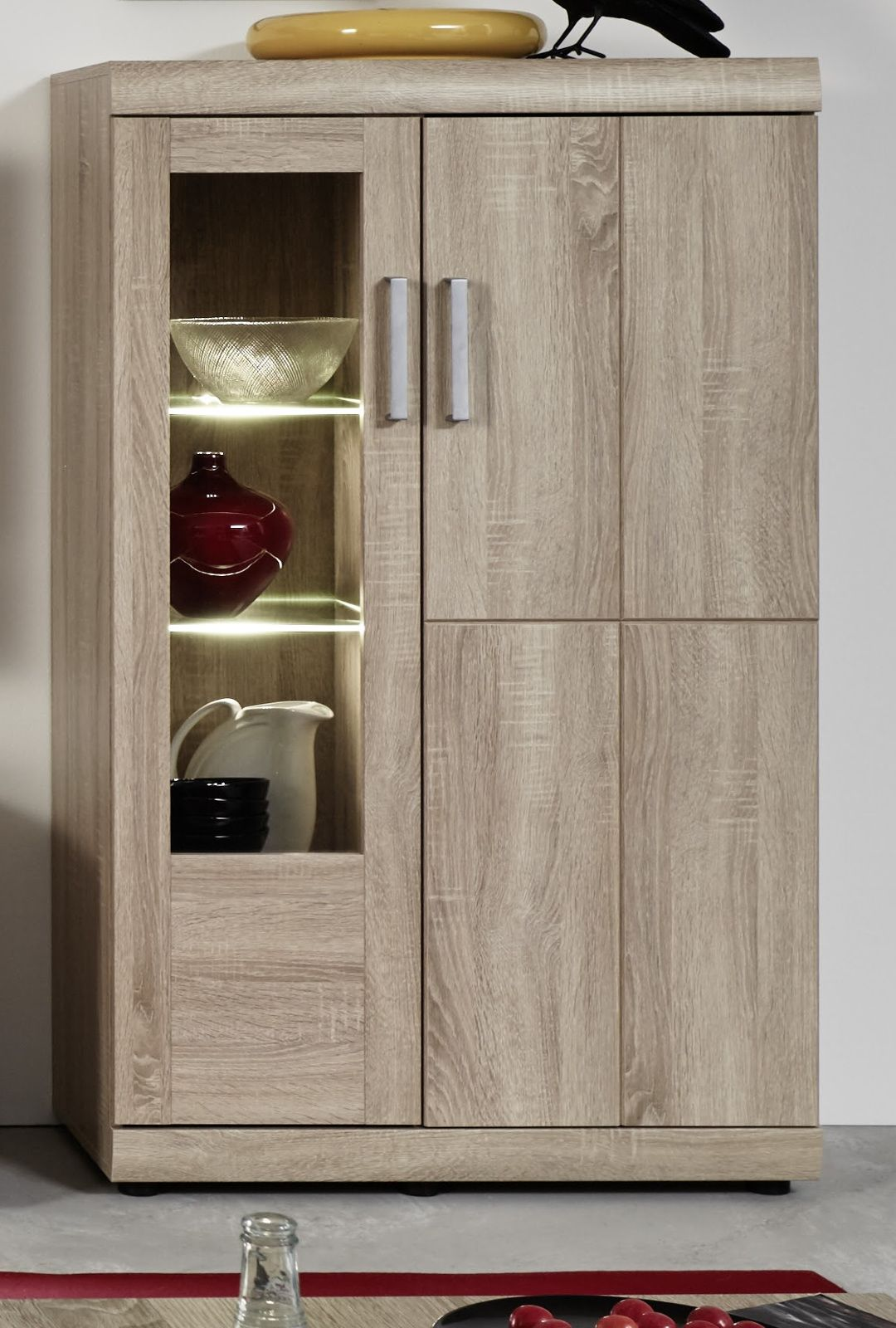 Eiche Sonoma Billig Highboard Eiche Sonoma Deutsche In 2019 Tall Cabinet