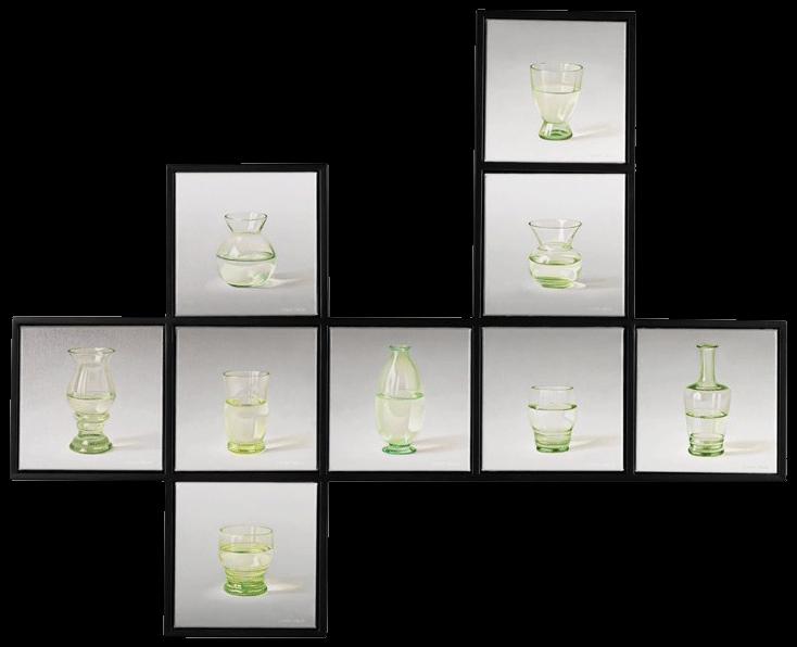 Meerluik Groen Glas