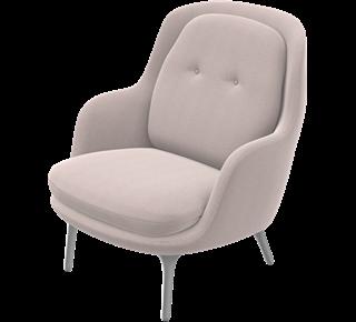 Fri™ - JH4 Sessel, Designer Selections, Blue, Designer Colours, Dunkelblau, Blue Lacquer