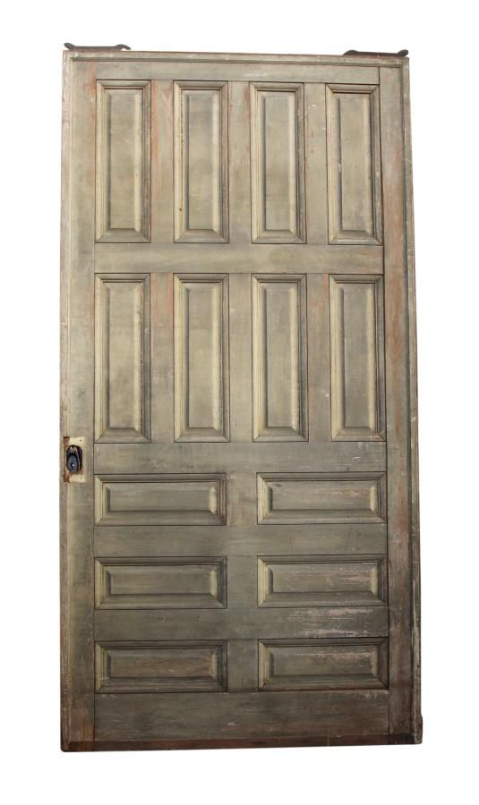 94.25 In H Fourteen Panel Pocket Door | Olde Good Things