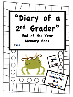 EOY - Diary of a 2nd Grader