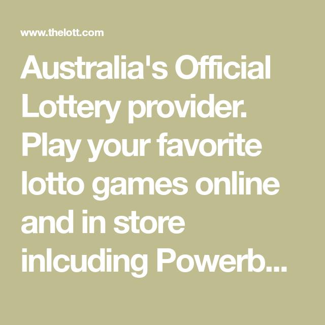 Oz Lotto Official Website