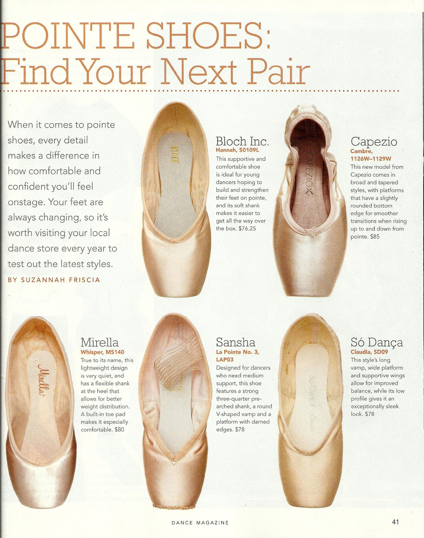 La Pointe V-Cut Tapered Box Pointe Shoes