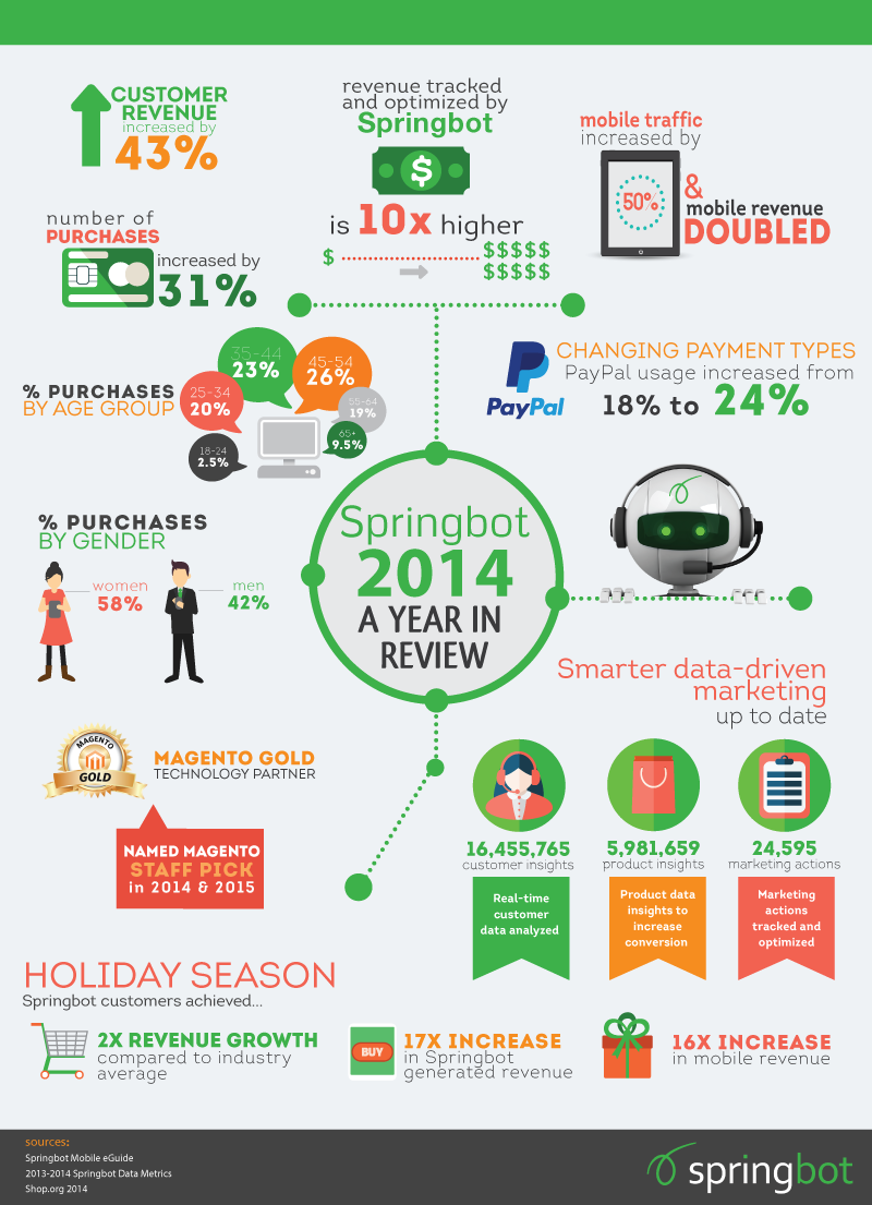 year in review infographic