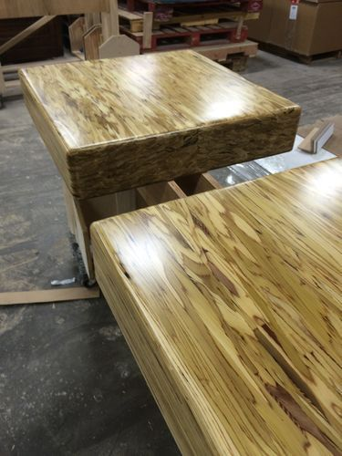 All Replies On Other Than Epoxy For Bartops Counter Tops Lumberjocks Com Woodworking Community Table Furniture Coffee Table Beams